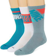 Nike 3-pk. Dri-FIT Fly Rise Crew Socks - Big & Tall