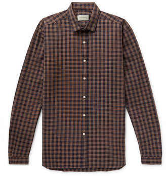 Oliver Spencer Clerkenwell Checked Cotton Shirt