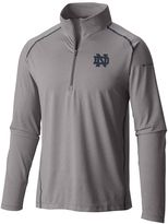 Columbia Men's Notre Dame Fighting Irish Tuk Mountain Performance Pullover
