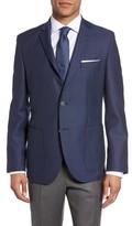 BOSS Men's Janson Trim Fit Textured Wool Sport Coat