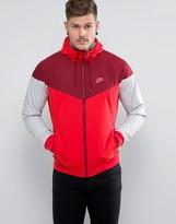 Nike Windbreaker Jacket In Red 727324-602