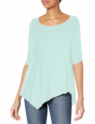 Star Vixen Women's Hanky Hem Top