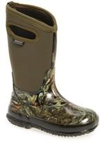 Bogs Boy's Classic Camo Insulated Waterproof Boot