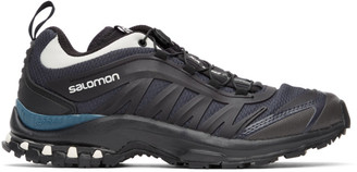 Salomon Black and Green XA-Pro Fusion Advanced Sneakers