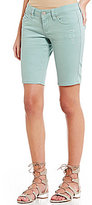 YMI Jeanswear Wannabettabutt Distressed Bermuda Shorts