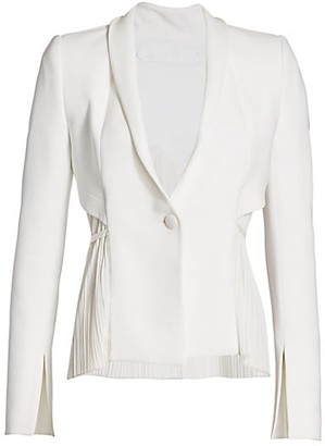 UNTTLD Pleated Blazer