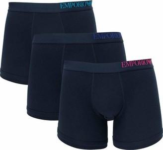 Emporio Armani Men's 3-Pack Boxer Underwear