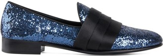 Giuseppe Zanotti Patrick sequin loafers