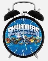 "Ikea Skylanders Alarm Desk Clock 3.75"" Room Decor E15 Will Be a Nice Gift"