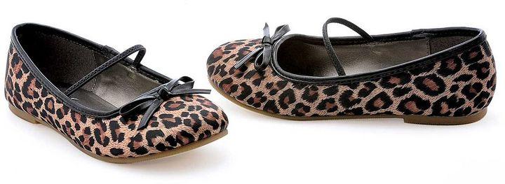 Leopard Costume Ballet Flats - Kids