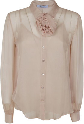 Blumarine Semi See-through Blouse