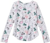 Girls 7-16 & Plus Size SO® Perfectly Soft Long Sleeve Graphic Tee