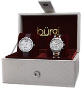 Burgi Women's BUR134SS Analog Display Swiss Quartz Watch Set