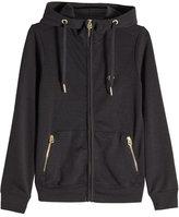 True Religion Zipped Jacket with Hood