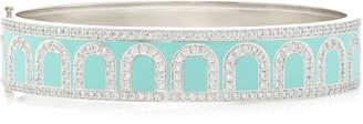 Davidor L'Arc 18K White Gold And Diamond Bracelet