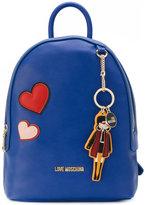 Love Moschino key chain backpack