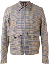 Paul Smith checked bomber jacket - men - Viscose/Wool - L