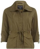 Dorothy Perkins Khaki contrast fabric safari