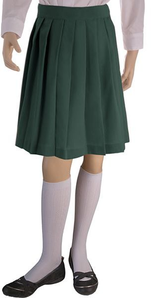 JCPenney French Toast Pleated Skirt - Girls Plus