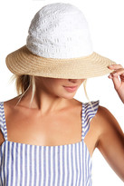 Helen Kaminski Flip Brim Crochet Raffia Hat