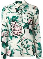 Burberry floral print shirt - women - Silk - 6