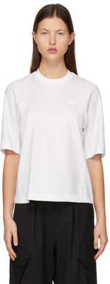 Y-3 White Classic Tailored T-Shirt