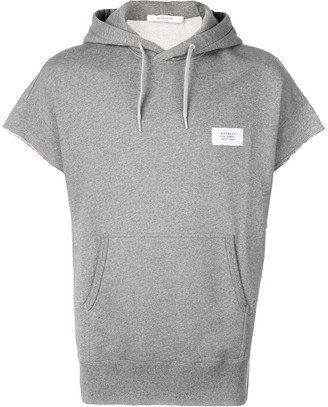 Givenchy short sleeved hooded top