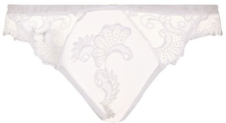 Lise Charmel Floral Lace Thong