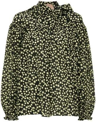 No.21 Star bow ribbon blouse