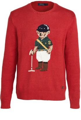 Polo Ralph Lauren Long Sleeve Crew Neck Bear Sweater