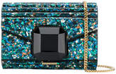 Elie Saab embellished ribbed clutch bag