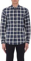 Theory Men's Benner Shirt-NAVY, DARK GREY