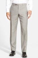 Ted Baker 'Jefferson' Flat Front Wool Trousers