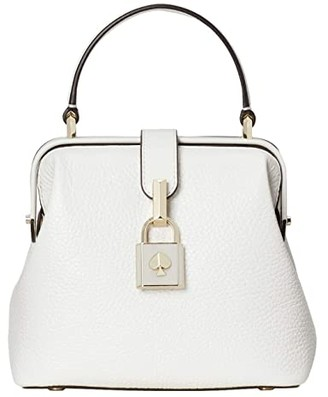 Kate Spade Remedy Small Top-Handle (Optic White) Handbags