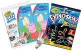 Crayola Colour Explosion & Peppa Pig Bundle