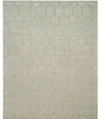 Wildon Home Geometric Hand Loomed Beige Area Rug Rug Size: Rectangle 10' x 14'