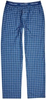 Calvin Klein Checked Cotton Lounge Trousers