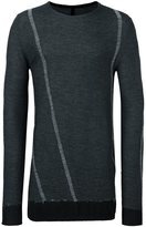 Masnada crew neck pullover - men - Nylon/Viscose/Wool - L