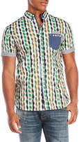 Desigual Mixed Print Dionisio Shirt