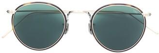 Eyevan 7285 Tortoiseshell Round Frame Sunglasses