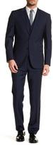 HUGO BOSS Grand/Central Two Button Notch Lapel Trim Fit Wool Suit