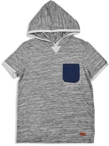 7 For All Mankind 7 for All Man Kind Boys' Slubbed Hooded Tee - Big Kid