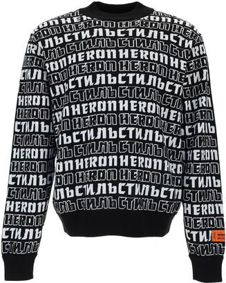 Heron Preston Crewneck Knitted Sweater