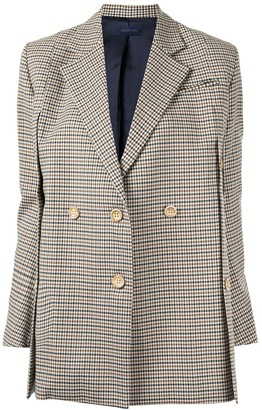Eudon Choi Beatrice button-embellished blazer