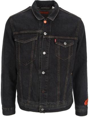Heron Preston X Levi's Denim Trucker Jacket