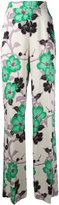 Etro floral print trousers - women - Viscose - 44