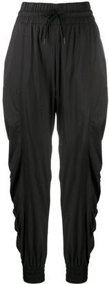 adidas by Stella McCartney Drawstring Ruched Training Trousers