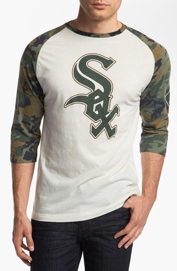 Camo Wright & Ditson 'Alliance - White Sox' Raglan T-Shirt