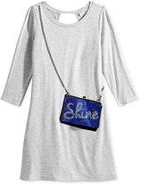 Jessica Simpson Enya Purse-Pocket Dress, Big Girls (7-16)