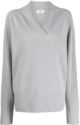 Barena Fine Knit V-Neck Jumper